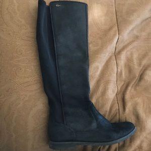 Black Lacoste boots